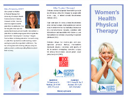 Women S Health Pt Jackson County Physical Therapy